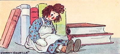 Raggedy Ann and Books