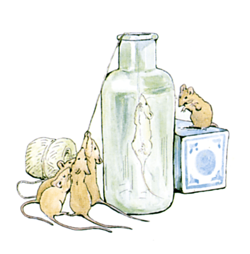 Ginger and Pickles cover image - mice and a bottle