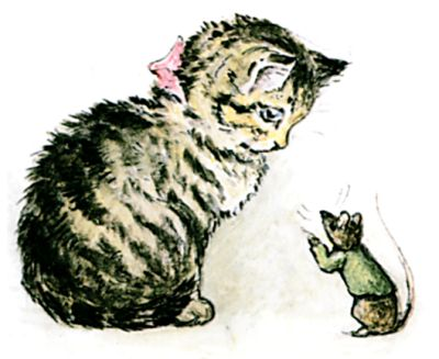 Miss Moppet and the mouse