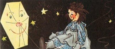 Raggedy Ann and the Kite