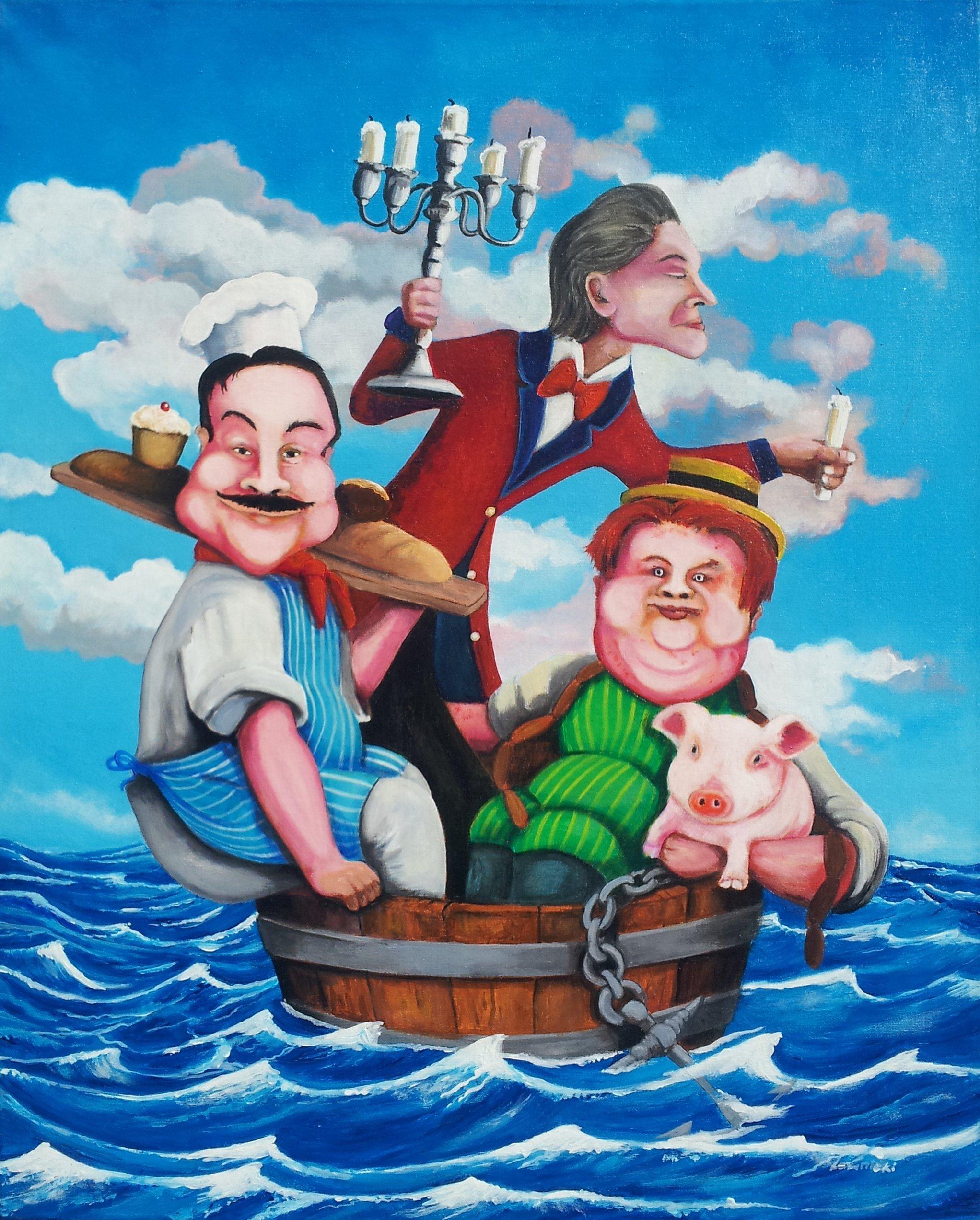 3 Men in the Boat