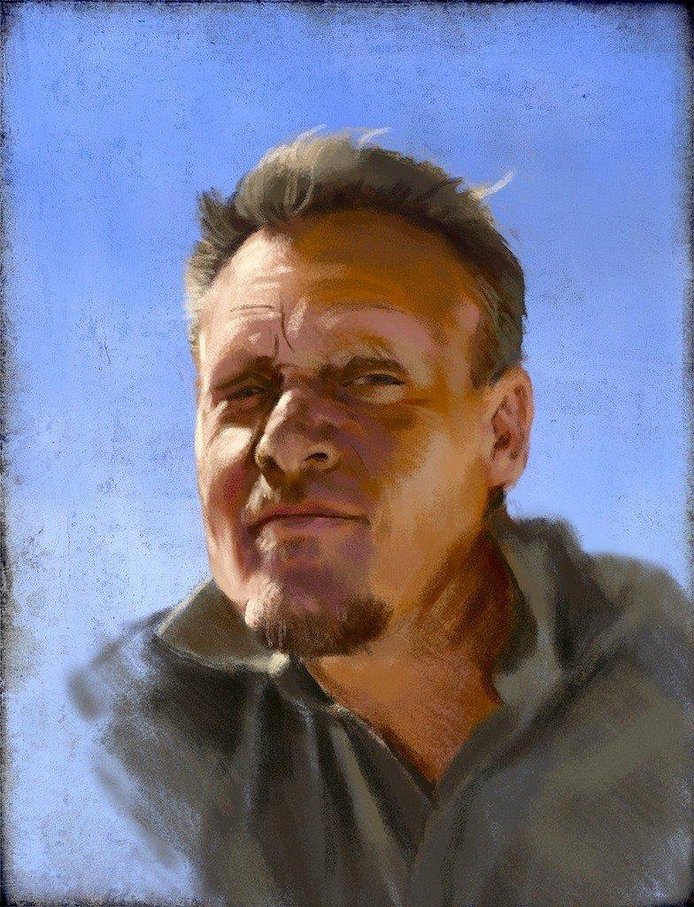 Jeremy Norton - Self-Portrait