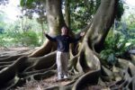 Michael Kozubek author photo under a huge tree