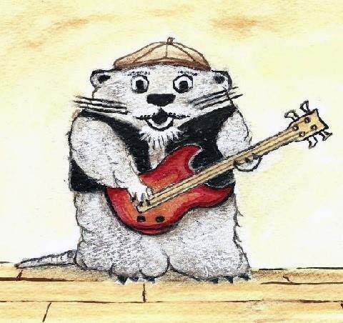 Bass-playing Groundhog