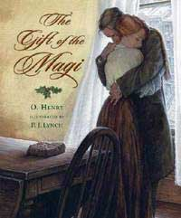 The Gift of the Magi - Jim and Della embracing