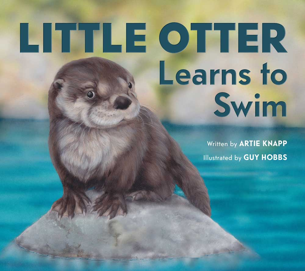 Little Otter learns to swim by Artie Knapp