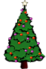 Christmas Tree illustration by Theresa Knott